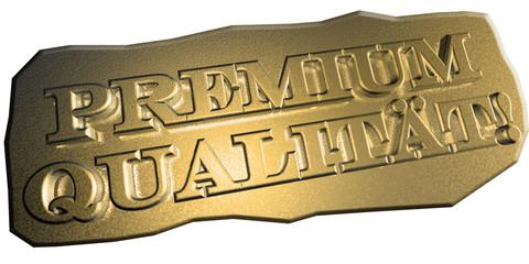 3D Goldschrift - PREMIUM QUALITÄT