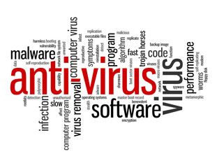 ANTI-VIRUS Tag Cloud (software program computer security virus)