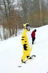 Snowboarders
