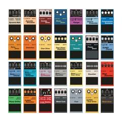 Guitar effect box