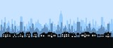 Fototapety city skyline