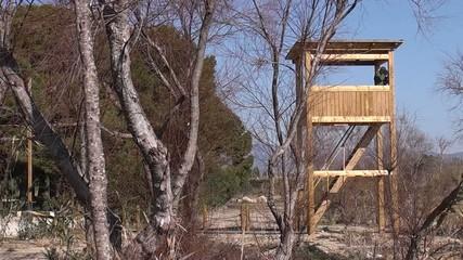 Torre de observación de aves