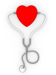 fonendo corazon