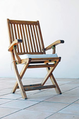 chaise en teck  # 05
