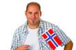 Freundlicher Norweger