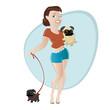 mops hund