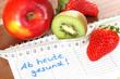 Gesund leben!
