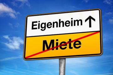 Eigenheim Miete