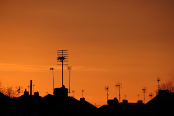 Rooftop antena