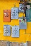 Metal Postboxes, Cheung Chau, Hong Kong poster