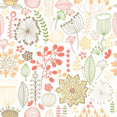 seamless botanical background