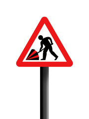 Road sign parody