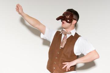 Machere Teatrali: capitano grillo