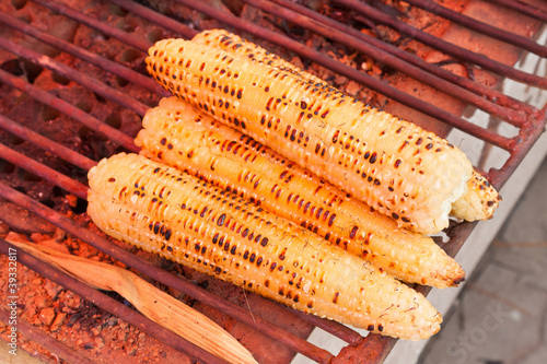 barbecue corn