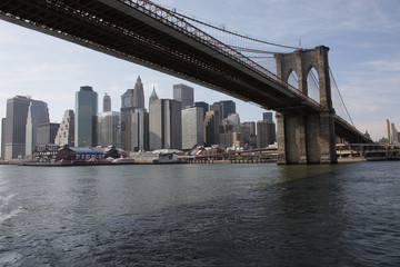 Manhattan with Brooklyn Bridge