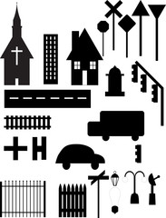 City objects
