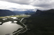 Lappland Sarek Nationalpark
