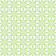 Vector seamless green guilloche background