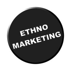 Button rund schwarz - Ethno-Marketing