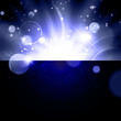 Abstract bright Galaxy background
