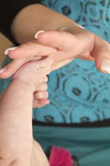 battesimo - madre figlio