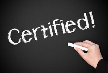Certified !
