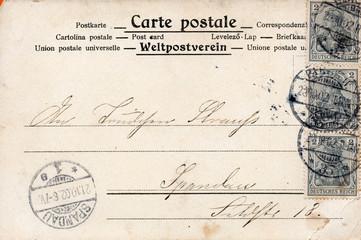 Die alte Postkarte 1902