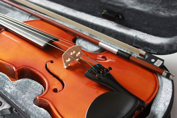 Violin in the box