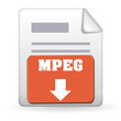 Download Button - MPEG