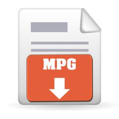 Download Button - MPG