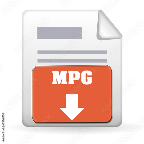 Download Button - MPG