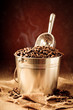 Bucket Of Coffee Beans