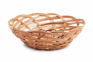 Wicker basket of bread or fruit