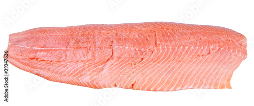 Fillet of an Atlantic salmon