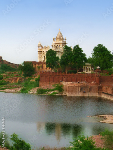Jodhpur, India: Jaswant Thada memorial mausoleum
