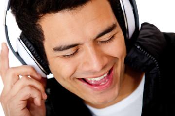 Male DJ singing