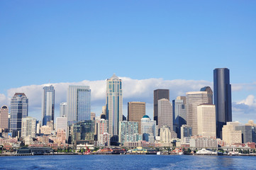 Skyline of Seattle, Washington