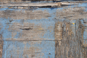 Damaged planks