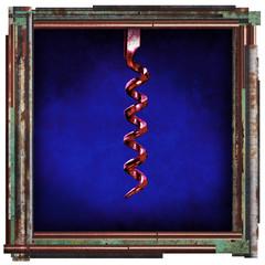 corkscrew artwork