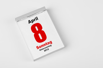 8 April 2012 Ostersonntag