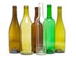 Leinwanddruck Bild - Glasflaschen