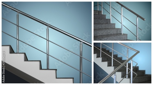 Hand rails and stairs collection