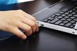 USB Kabel an Laptop anschließen