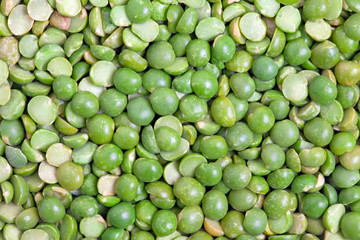 Split green peas