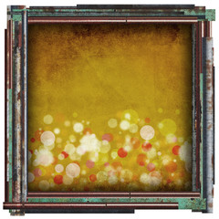 yellow sparkle abstract