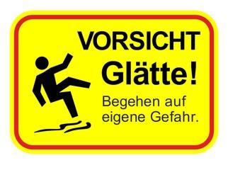 Warnschilder Verbotsschilder und Hinweissschilder29a