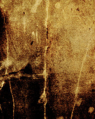 aged yellow parchment, old rusty paper as vintage background