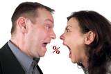 Streit um Prozente