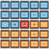 film strip stills