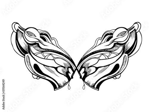 coreldraw素材翅膀